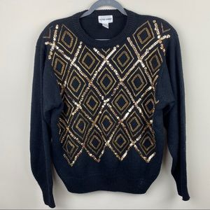 Alfred Dunner Sequin Sweater